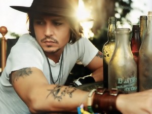 Postal: John Christopher Depp II, más conocido como Johnny Depp