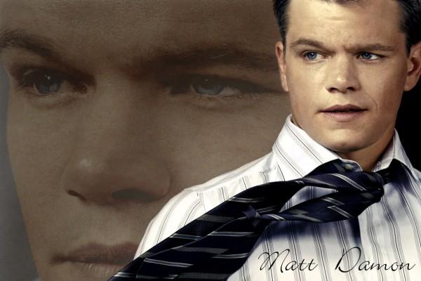 Matt Damon, actor y guionista estadounidense