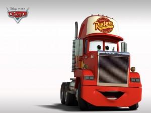 Postal: Mack, el camión que transporta a McQueen
