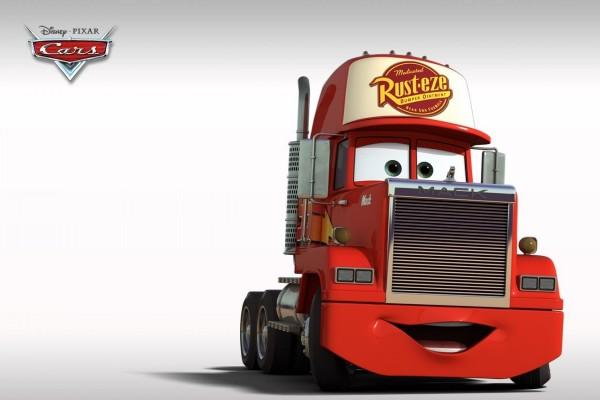 Mack, el camión que transporta a McQueen