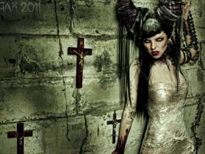 Bruja satánica