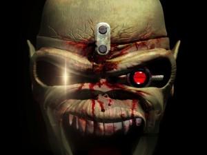 Postal: Los ojos de Eddie (Iron Maiden)