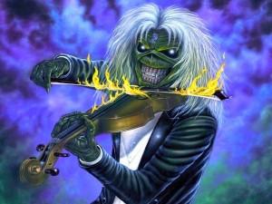 Eddie y su violín de fuego (Iron Maiden)