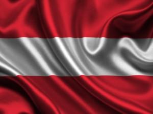 Postal: Bandera de Austria