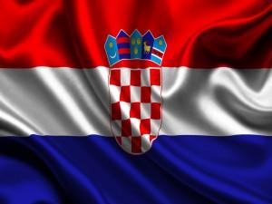 Postal: Bandera de Croacia