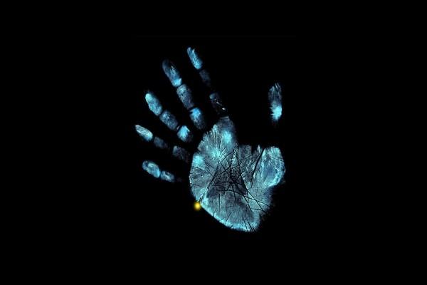 Huella dactilar de la mano