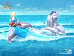 "Barbie, ""La princesa de la isla"" (The Island Princess)"