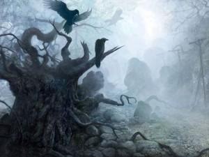 Cuervos tenebrosos