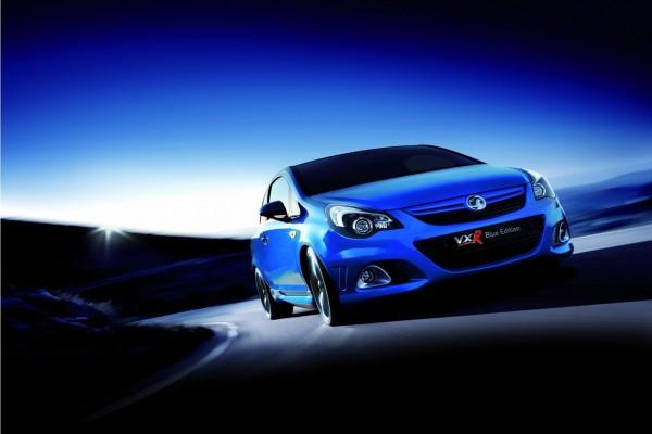 Vauxhall Corsa VXR Blue