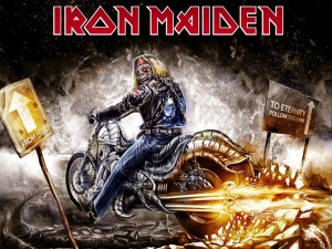 De aquí a la eternidad seguir este carril (Iron Maiden)