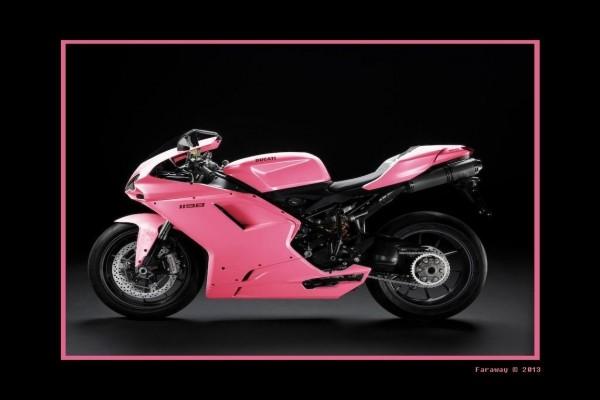 Ducati rosa