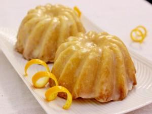 Bundt Cake con glaseado de naranja