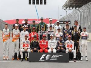 Pilotos de Fórmula 1 del Gran Premio de Brasil 2012