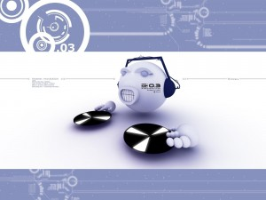 Postal: Robot DJ
