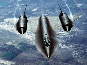 Avión de reconocimiento estratégico Lockheed SR-71