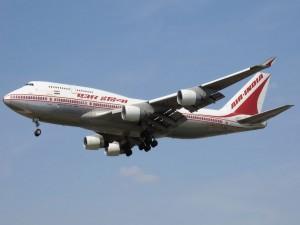 Postal: Boeing 747-400 de Air India