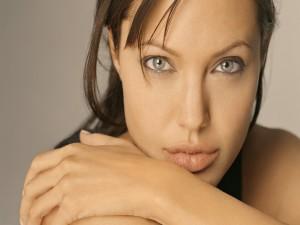 La guapa Angelina Jolie