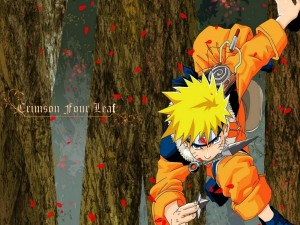 Naruto - Crimson Four Leaf