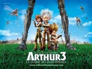 Postal: Arthur y la guerra de los mundos