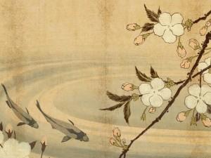 Postal: Arte japonés