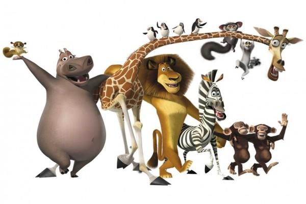 """Los amigos de """"Madagascar"""" (Dreamworks)"""