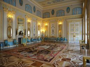 Postal: Interior del Palacio de Catalina (Moscú)