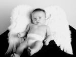 Bebé disfrazado de angelito