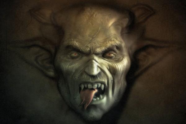 Vampiro con lengua bífida