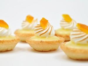 Postal: Tartaletas de crema de limón