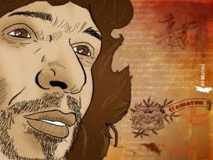 Caricatura de Camarón de la Isla