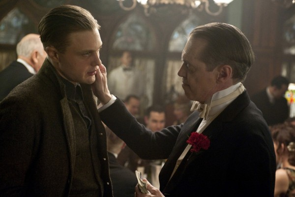 Nucky Thompson con Jimmy Darmody