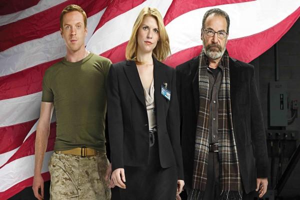 Carrie, Brody y Saul (Homeland)