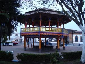 Kiosco en Chignahuapan, Puebla, México