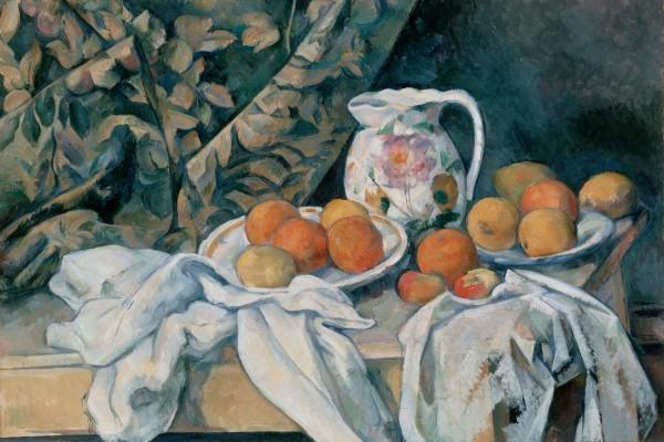 Bodegón con manzanas y naranjas (1895-1900), de Paul Cézanne