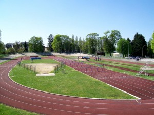 "Velódromo ""Turquet boisserie"" en Senlis (Francia)"