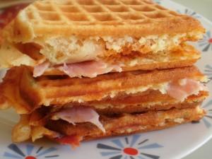 Sandwich de gofre