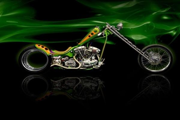 Harley-Davidson tuneada