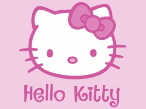 Hello Kitty en color rosa