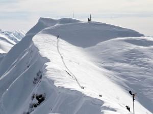 Postal: Pista de esquí