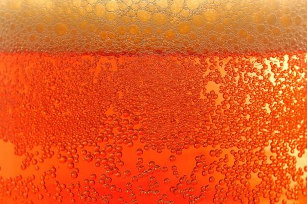 Burbujas de cerveza