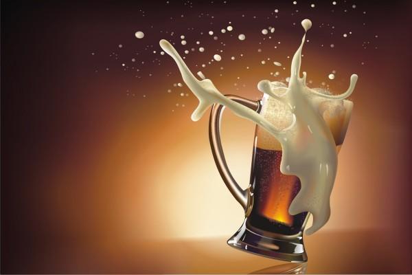 Espuma de cerveza