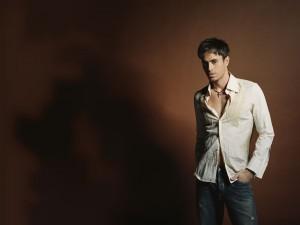 El cantante y compositor español Enrique Iglesias