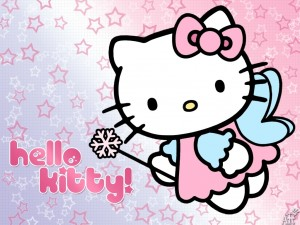 Hello Kitty de hada madrina