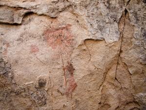 Postal: Pinturas rupestres en Tadrart Acacus (Libia)