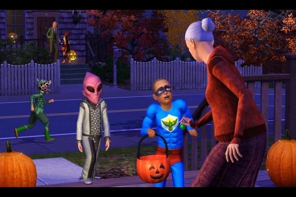 """Jugando a """"Los Sims 3"""""""