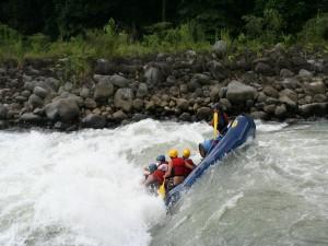 Rafting por el río Pacuare, Costa Rica
