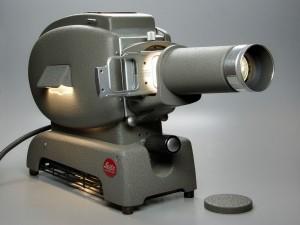 Leitz Prado 500, antiguo proyector de diapositivas