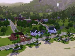 Ciudad en el campo (Los Sims 3)