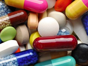 Medicamentos de colores