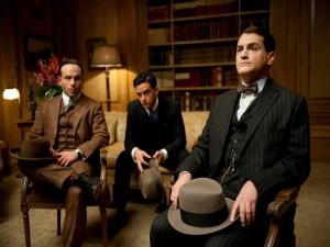 Arnold Rothstein, gangster de Nueva York, con Luciano y Meyer